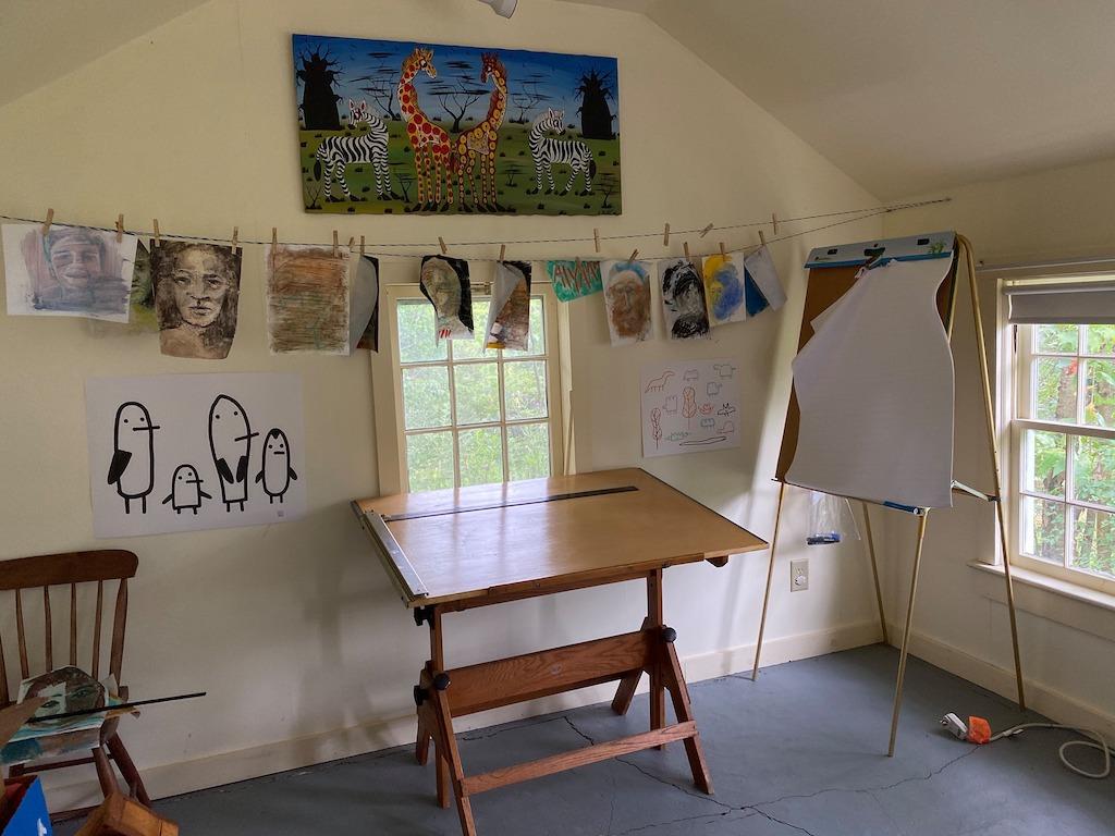Art Coop Interior