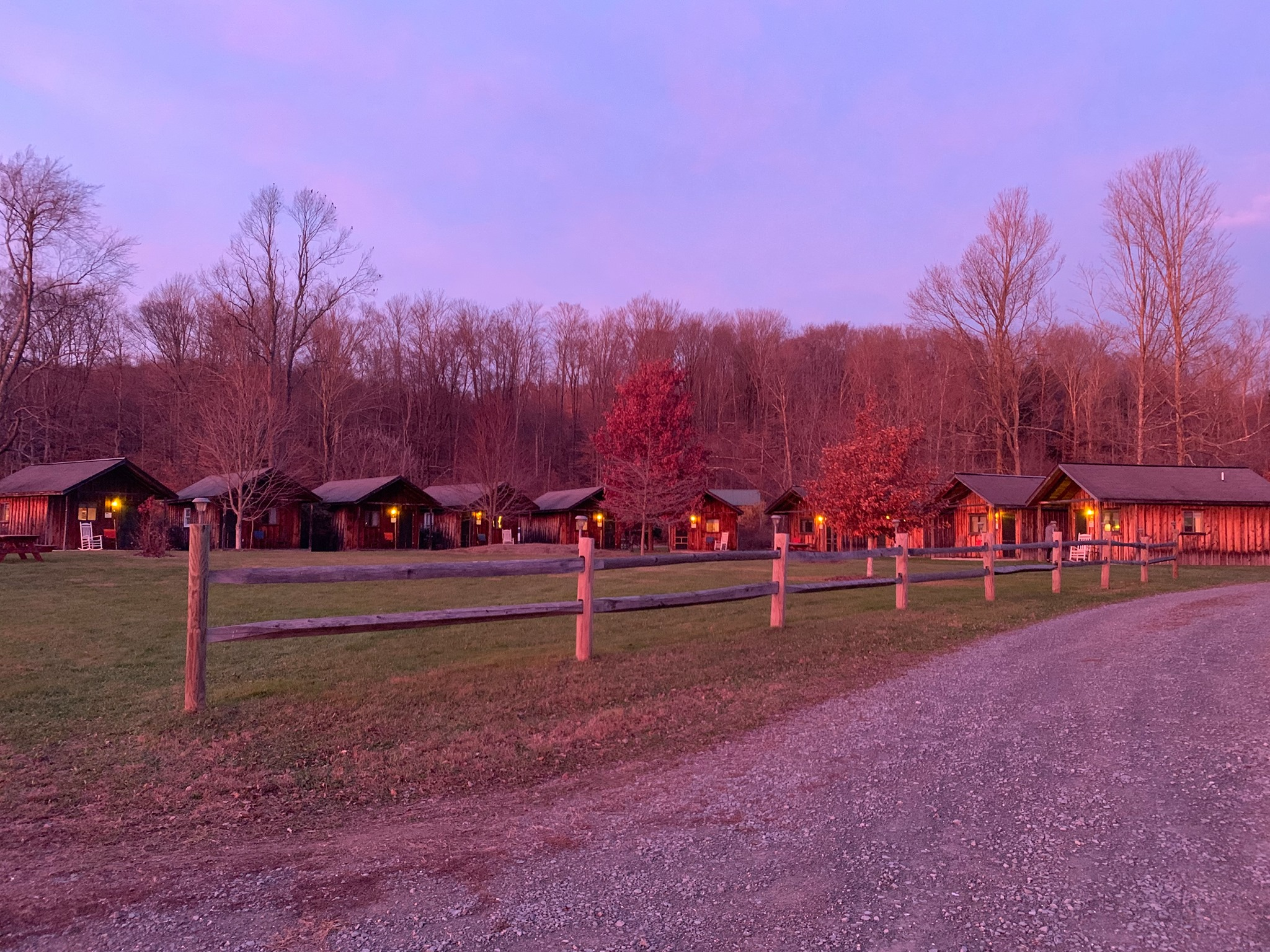 Retreat Center and Barn at Boyds Mills Cabins